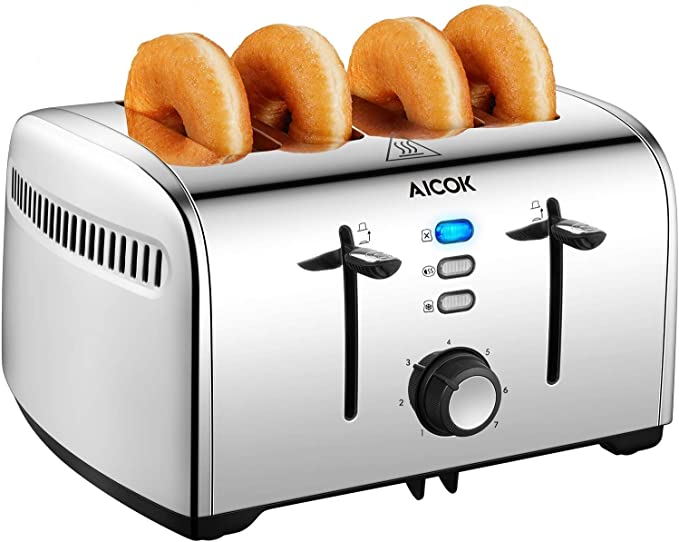 aicok bael toaster 4 slices