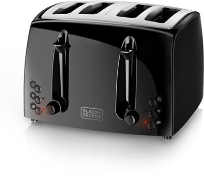 black decker 4 slices extra wide toaster