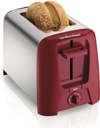 hamilton beach wide bageltoaster red